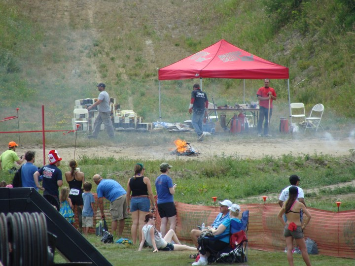 The Warrior Dash: Mud. Fire. Mountains. Need I say more?