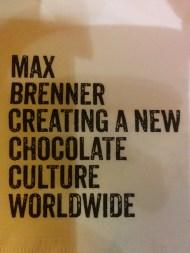 Boston Travel Max Brenners