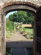 Door to the walled garden