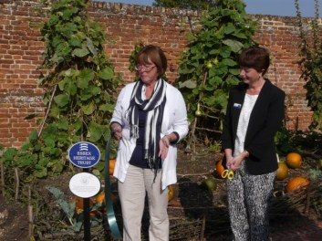 Opening of the path with Essex Heritage Trust