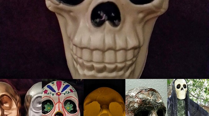 5 Ways to Use a Dollar Tree Skull