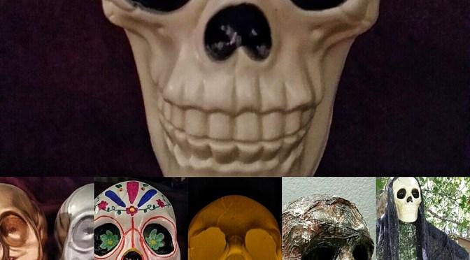 5 Ways to Use a Dollar Tree Skull