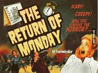isittheweekendyet mondayfunday followme frightowl