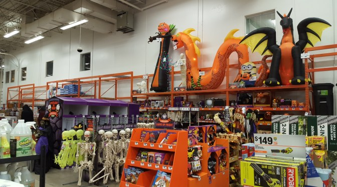 2017 Halloween Merchandise Review: Home Depot