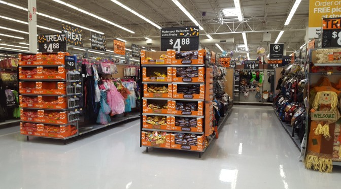 2017 Halloween Merchandise Review: Walmart