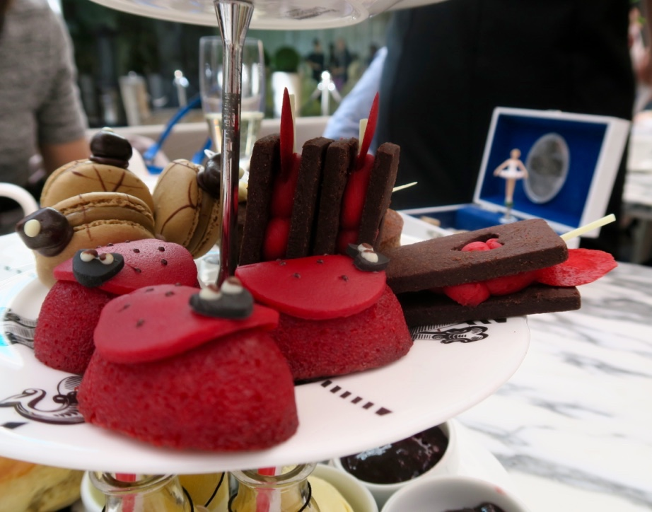 The-Frilly-Diaries-Afternoon-tea-London-Sanderson-hotel-stand-detail-ladybird