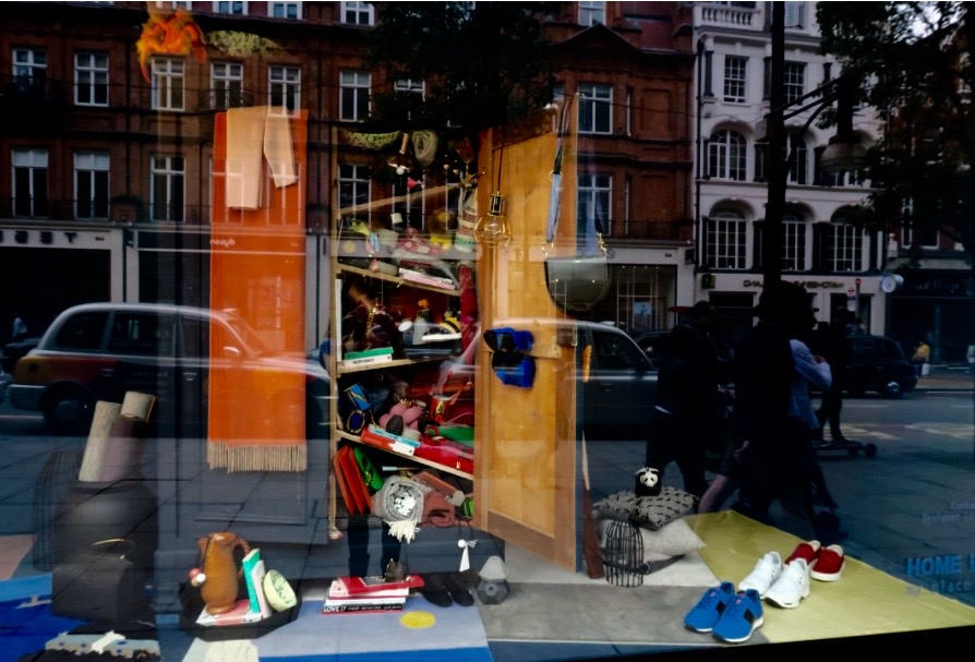 Selfridges Oxford street Londra   vetrina