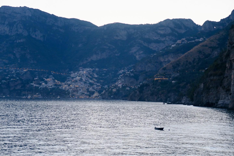 Boat. Gavitella beach sunset