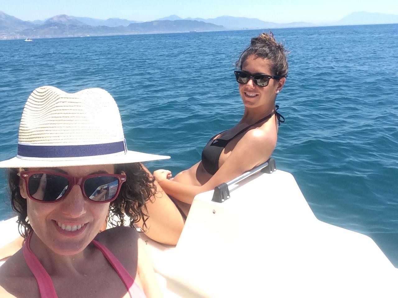 Erchie-beach-pedalo