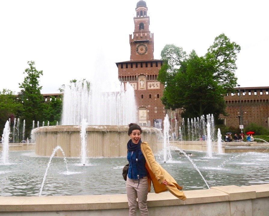Fontana-Castello-Sforzesco-Milano - ricordi milanesi