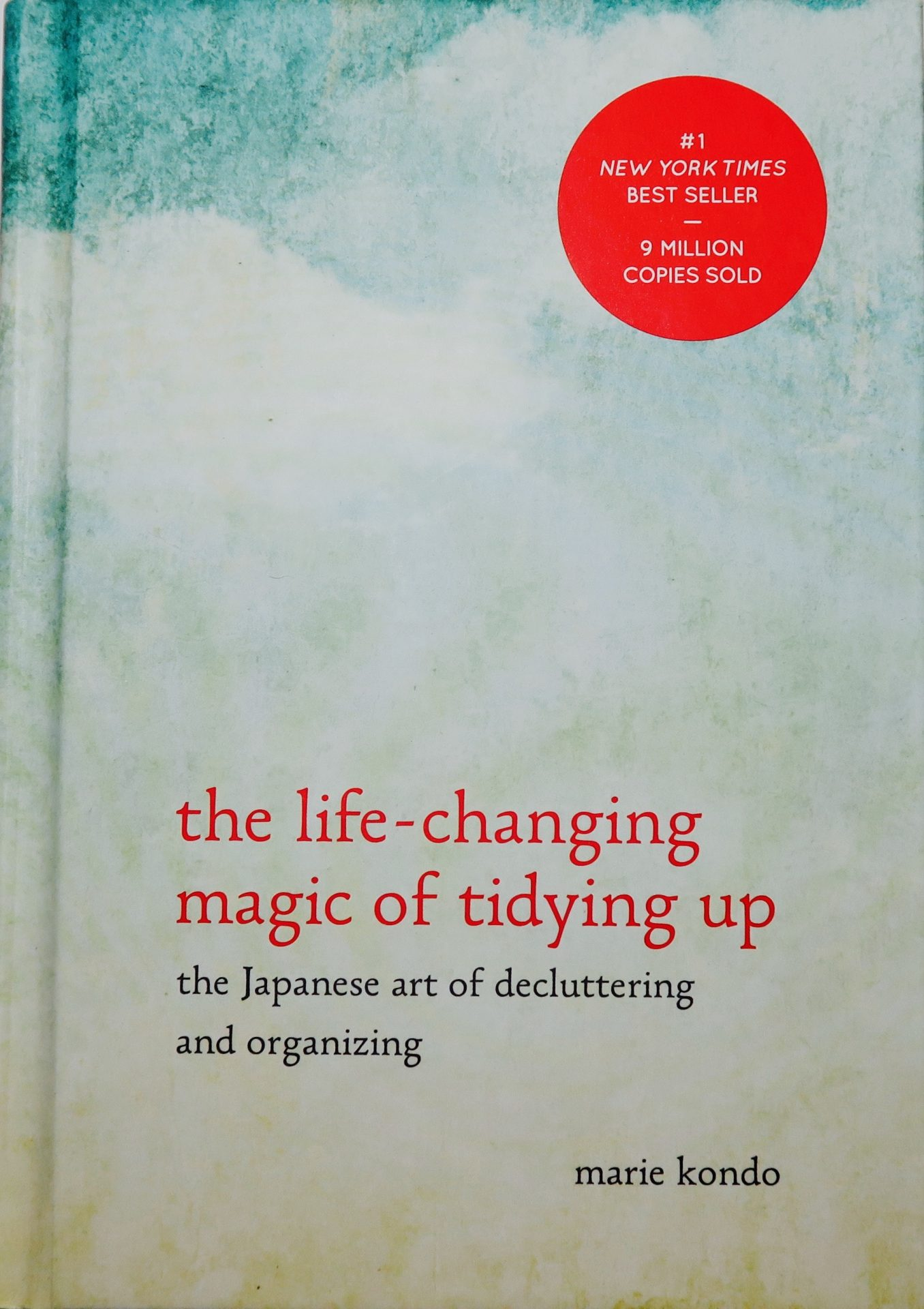 the Like-changing magic of tidying up book