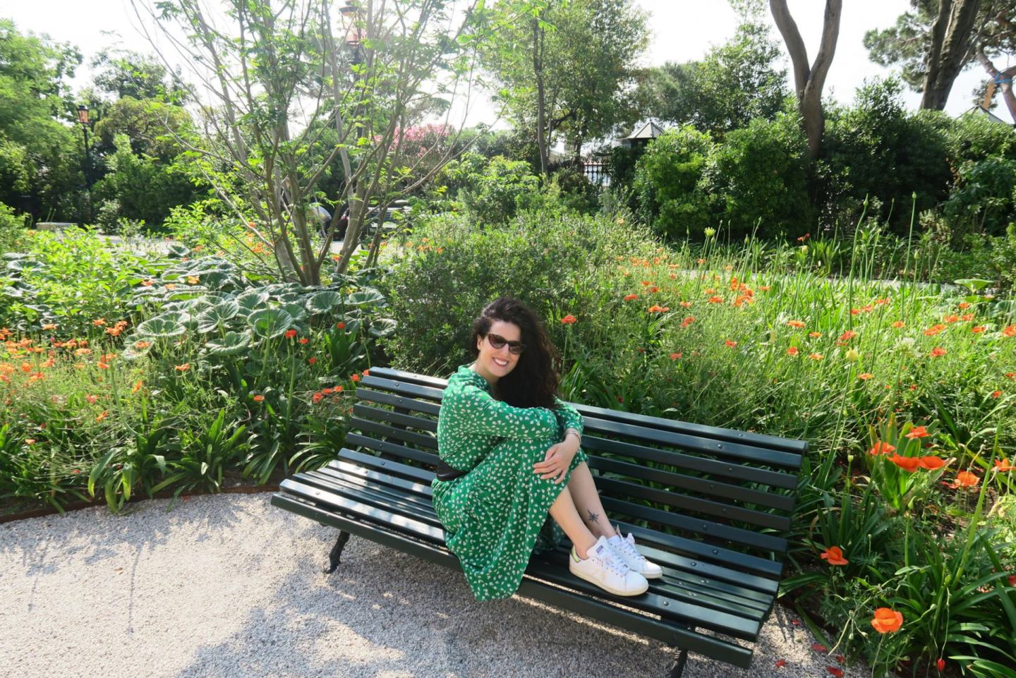The Frilly Diaries blog Giardini Reali Venezia