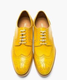 Kenzo Mustard Oxford Shoes