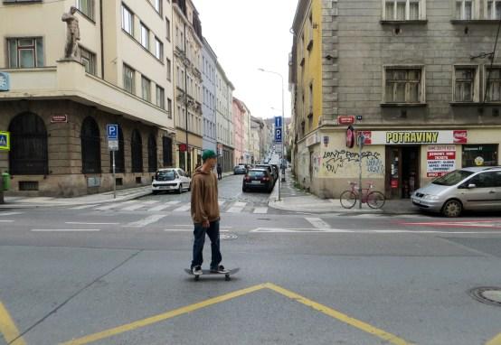 Prague skater