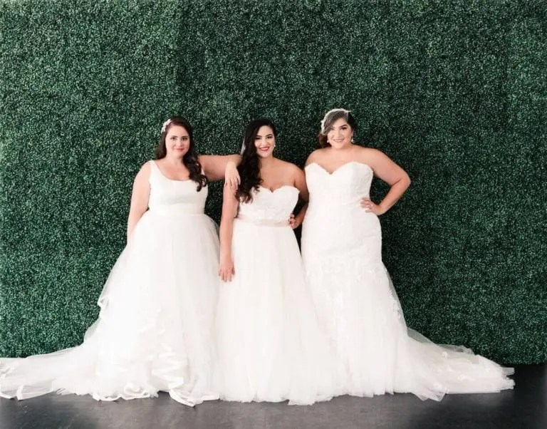 The Perfect Bridesmaid Gown Styles For Curvy Ladies