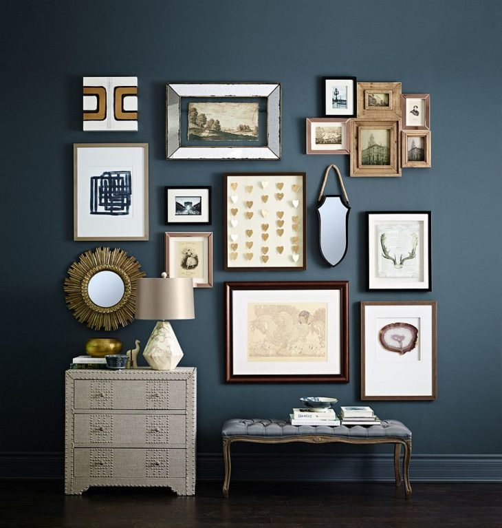 Home Inspiration: 20 Gorgeous Gallery Walls - The Frisky