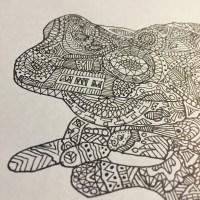 Amazon Milk Frog Doodle