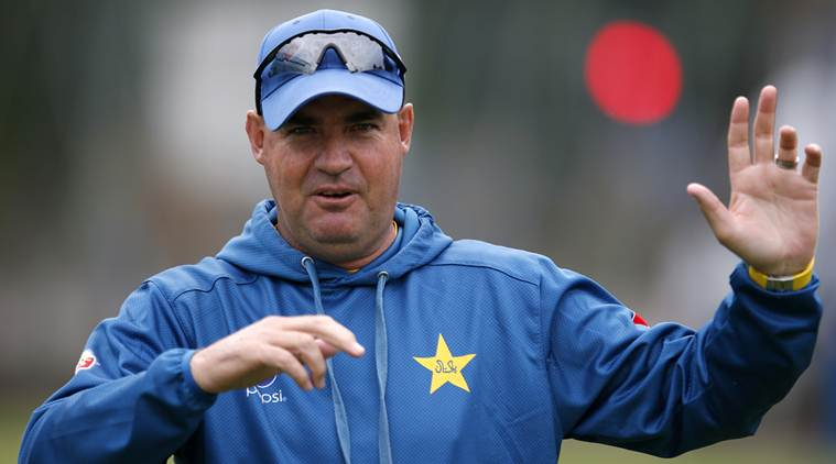 Britain Cricket - Pakistan Nets - Edgbaston - 1/8/16 Pakistan's Head Coach Mickey Arthur during nets Action Images via Reuters / Paul Childs Livepic EDITORIAL USE ONLY.