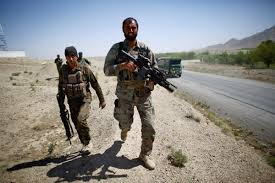 Afghan forces operation in Zabul
