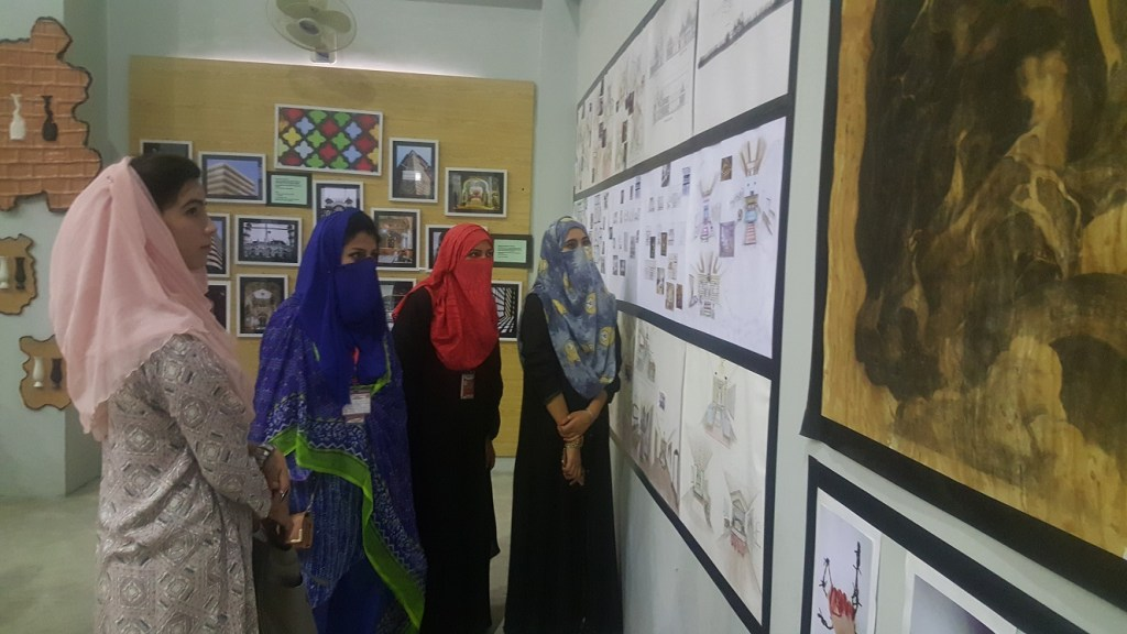 Art and painting exhibition