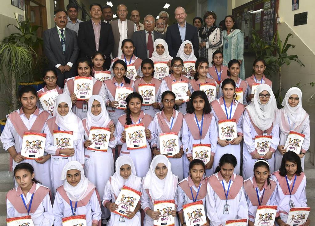 Nestlé Pakistan inaugurates healthy kids room at TEDDS - The