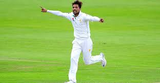 Amir takes 100th wicket