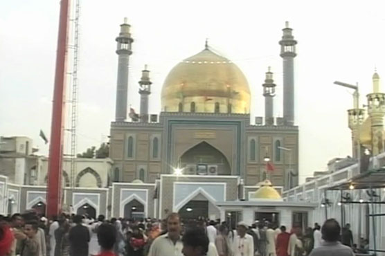 Three day urs of lal shahbaz begins