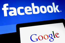 Facebook, Google influence users to share data