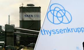 India's steel firm Tata and UK's Thyssenkrupp to merge