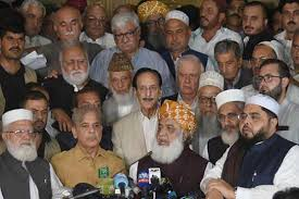 Election results Joint opposition to protest on August 8, 9 across country