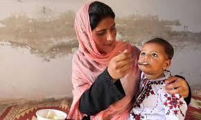 KP has a high ratio of stunting among children'