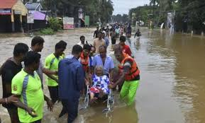 Rescue efforts step up as rains begin to ease in Kerala