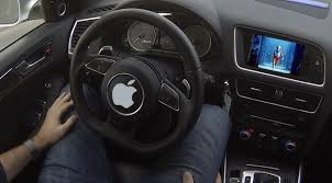 Apple's self-driving car faces first crash