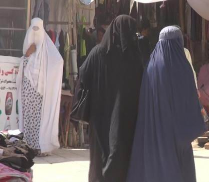 Balkh women prefer hijab over traditional burqa