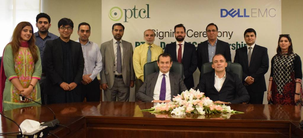 PTCL enters into agreement with Dell EMC