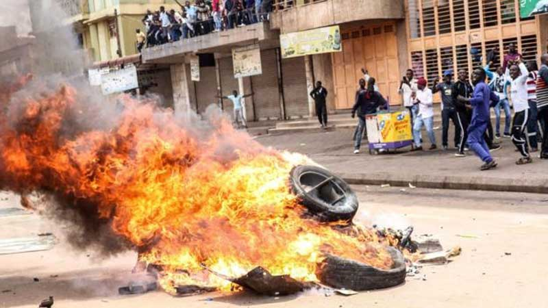 Protests in Uganda after MPs detained at airport