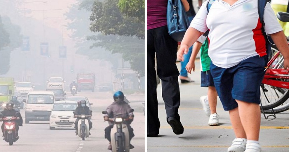 Vehicle pollution may increase risk of childhood obesity