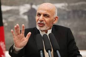 President Ghani says facing shameless