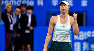 Sharapova advances to Shenzhen Open q-finals