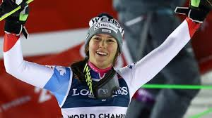 Holdener edges Vlhova to defend world combined title