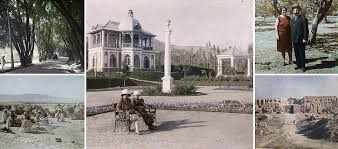 Ultra-rare colour images of Afghanistan in 1928 reveal a land of manicured gardens, elegant palaces and serene tree-lined avenues
