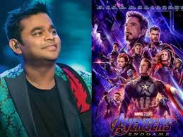 AR Rahman to compose a song for Avengers Endgame
