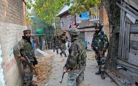 Indian occupied forces launch