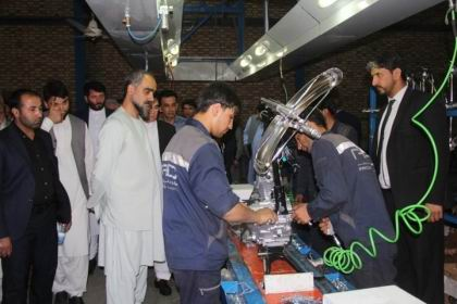 Medical equipment made in Afghanistan exported to Africa