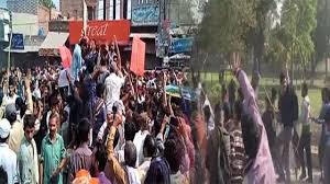 Kasur Protesters outraged over murder, rape of three minor boys