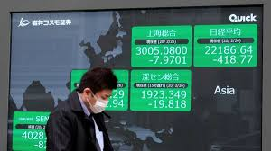 Asian markets slammed again as virus fears cause global turmoil