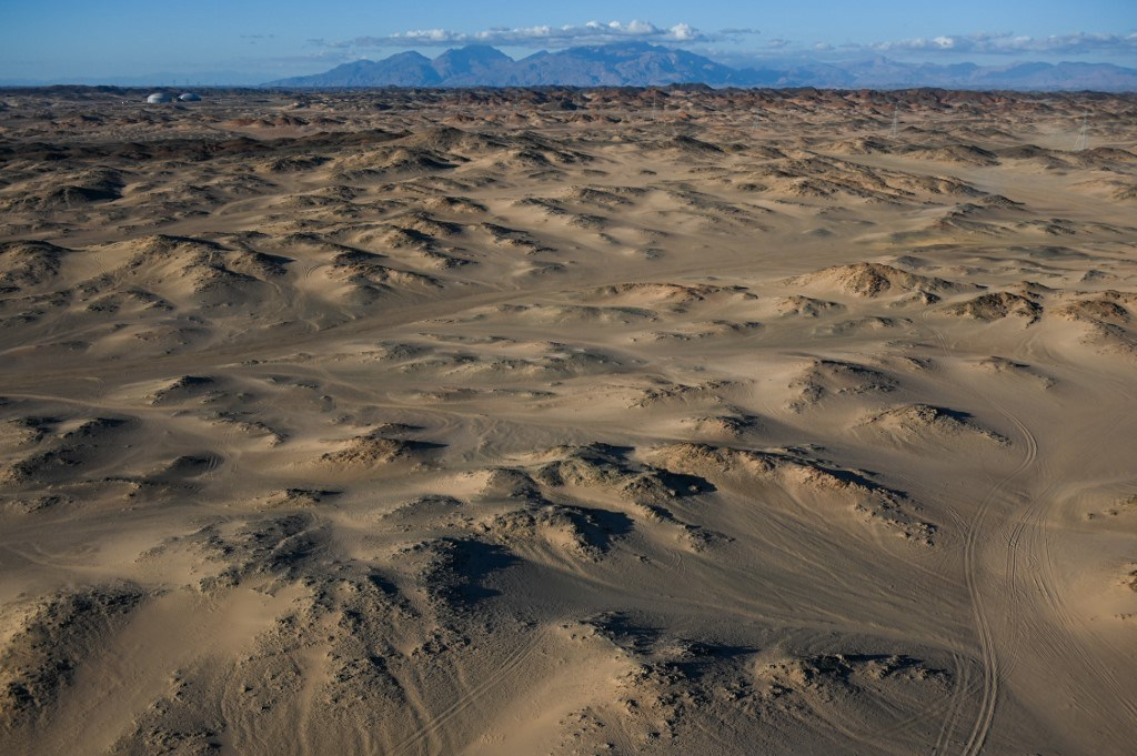 Ambiance landscape during Stage 2 of the Dakar 2020 between Al Wajh and Neom, 401 km - SS 367km, in Saudi Arabia, on January 6, 2020 - Photo Julien Delfosse / DPPI