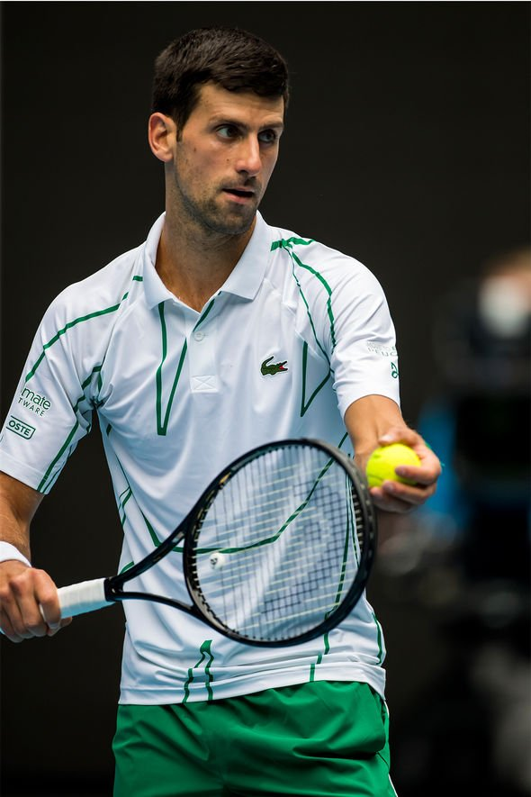 Fan of routine, Djokovic finds it tough to adjust to uncertainty