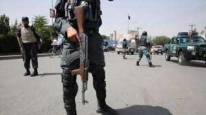 Five Afghan police personnel abducted
