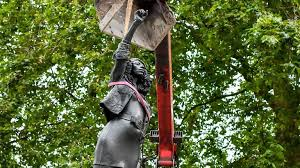 BLM protester statue removed next day after being secretly installed in Bristol, city's council Says
